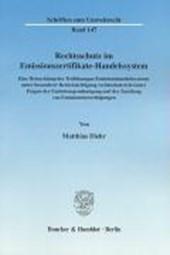 Rechtsschutz im Emissionszertifikate-Handelssystem