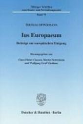 Ius Europaeum