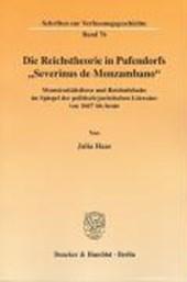"""Die Reichstheorie in Pufendorfs """"Severinus de Monzambano"""""""