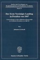 Der Erste Vereinigte Landtag in Preußen von