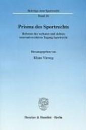 Prisma des Sportrechts