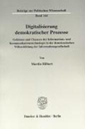 Digitalisierung demokratischer Prozesse
