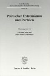 Politischer Extremismus und Parteien
