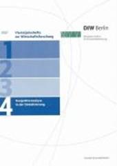 Vierteljahrshefte zur Wirtschaftsforschung 2007/4. Konjunkturanalyse in der Globalisierung