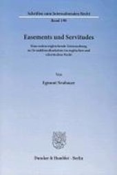 Easements und Servitudes