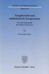 Vergaberecht und städtebauliche Kooperation