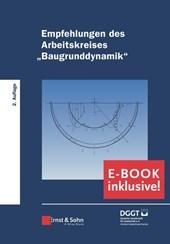 """Empfehlungen des Arbeitskreises """"Baugrunddynamik"""": Buch plus e-PDF"""