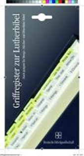 Griffregister für die Lutherbibel
