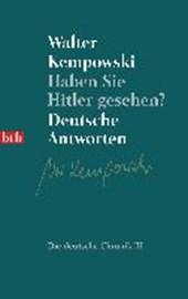 Haben Sie Hitler gesehen?