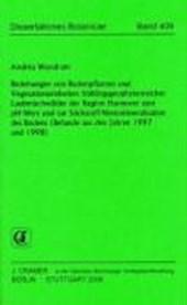 Beziehungen von Bodenpflanzen und Vegetationseinheiten frühlingsgeophytenreicher Laubmischwälder der Region Hannover zum pH-Wert und zur Stickstoff-Nettomineralisation des Bodens (Befunde aus den Jahren 1997 und 1998)