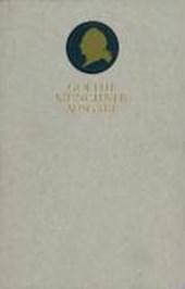 Sämtliche Werke 09. Münchner Ausgabe. Epoche der Wahlverwandtschaften
