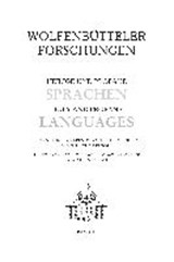 Heilige und profane Sprachen /Holy and profane Languages |  |