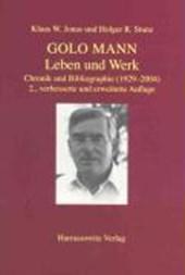 Golo Mann - Leben und Werk