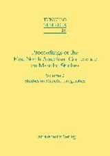 Proceedings of the First North American Conference on Manchu Studies | auteur onbekend |