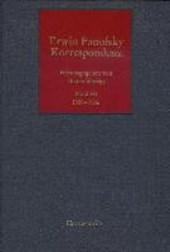 Erwin Panofsky - Korrespondenz 1950 - 1956 Band III