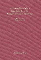 Die mittelalterlichen Handschriften der Studienbibliothek Dillingen