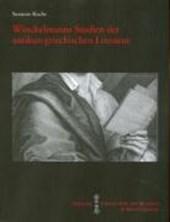 Winckelmanns Studien der antiken griechischen Literatur
