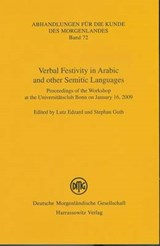 Verbal Festivity in Arabic and Other Semitic Languages |  |