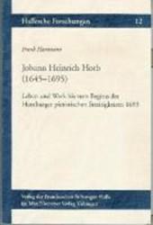 Johann Heinrich Horb (1645-1695)