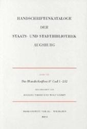 Die Handschriften der Staats- und Stadtbibliothek Augsburg.  8° Cod 1-232