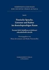 Finnische Sprache, Literatur und Kultur im deutschsprachigen Raum