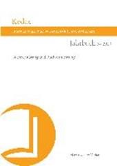 Kodex Jahrbuch der Internationalen Buchwissenschaftlichen Gesellschaft 3 (2013)