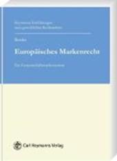 Europäisches Markenrecht