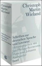 Schriften zur deutschen Sprache und Literatur