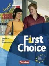 First Choice. Starter. Kursbuch und CD