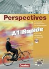 Perspectives 1 Version rapide. Kursbuch mit Text- und Übungs-CD | Pierre Le Borgne |