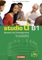 studio d B1. Gesamtband 3. Kurs- und Übungsbuch mit CD