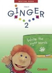 Ginger 2. My Second Writing Book. Schreibheft. Mit Lösungsheft