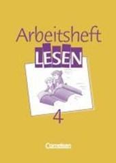 Arbeitsbuch Lesen 4. RSR. Arbeitsheft