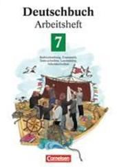 Deutschbuch 7. Neue Rechtschreibung. Arbeitsheft
