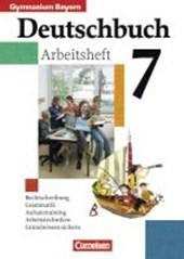 Deutschbuch 7. Arbeitsheft mit Lösungen. Bayern. Gymnasium. Neue Rechtschreibung