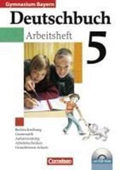 Deutschbuch Gymnasium 5. Jahrgangsstufe. Arbeitsheft mit Lösungen und CD-ROM. Bayern