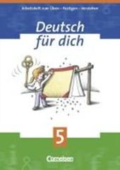 Deutsch für Dich 5. Arbeitsheft