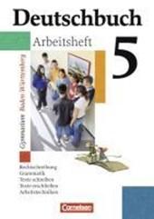 Deutschbuch Gymnasium 05. 9. Schuljahr. Arbeitsheft mit Lösungen. Baden-Württemberg