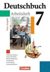 Deutschbuch Gymnasium 7. Schuljahr. Arbeitsheft mit Lösungen. Allgemeine Ausgabe. Neubearbeitung