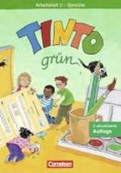 Tinto Arbeitsheft 2 Sprache. Grüne Ausgabe