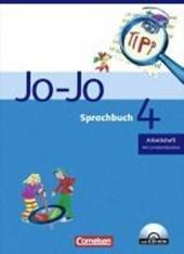 Jo-Jo Sprachbuch - Bisherige allgemeine Ausgabe. 4. Schuljahr - Arbeitsheft mit CD-ROM und Lernstandsseiten
