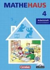 Mathehaus 4. Schuljah. Arbeitsheft mit CD-ROM und Lernstandsseiten. Allgemeine Ausgabe