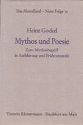 Mythos und Poesie