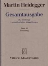 Gesamtausgabe Abt. 3 Unveröffentlichte Abhandlungen Bd. 66. Besinnung (1938/39)