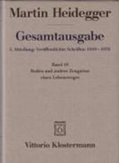 Gesamtausgabe Abt. 1 Veröffentlichte Schriften Bd. 16. Reden und andere Zeugnisse eines Lebensweges 1910 -