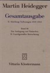 Gesamtausgabe II. Abteilung: Vorlesungen 1919 - 1944. (Bd. 46)
