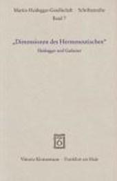 """""""Dimensionen des Hermeneutischen"""""""