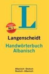 Albanisch. Handwörterbuch. Langenscheidt