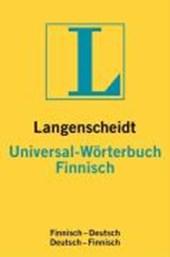 Finnisch. Universal-Wörterbuch. Langenscheidt. Neues Cover