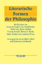 Literarische Formen Der Philosophie